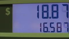 Gas pump price raising rapidly Arkistovideo