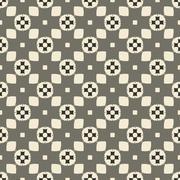 Stock Illustration of Geometric ornament seamless pattern.  Textile design template seamless