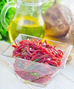 Salad with beet Stock Photos