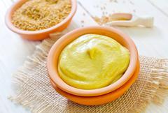 mustard - stock photo