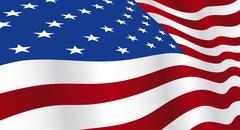 Stock Illustration of Flag of USA