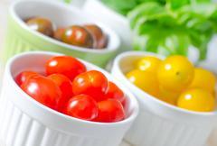color tomato - stock photo