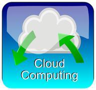 App Cloud Computing Kuvituskuvat