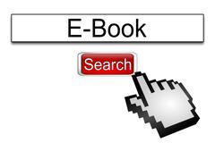 Internet web search engine e-book Kuvituskuvat