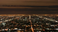 Stock Video Footage of Los Angeles Cityscape 4k 001