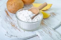 Potato starch Stock Photos