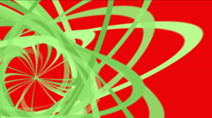 Stock Video Footage of 4k Abstract helix line,debris paper,spiral particle,ribbon curve background.