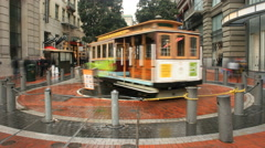 San Francisco Trolly Street Car 4K 009 Stock Footage