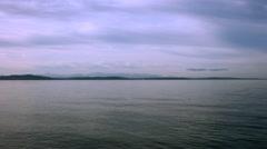 Seattle Alki Beach 4K 003 Stock Footage