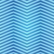 Blue background illustration of wavy folds - stock illustration