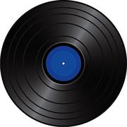 Long Play vinyl record Piirros