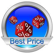 Button Best Price Kuvituskuvat