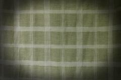 Fabric textile background with square pattern - stock photo