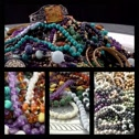 Stock Video Footage of jewelry collage
