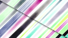 Striped brush stroke background on paper. Seamless loop. - stock footage