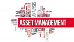 Stock Video Footage of Asset Management. Two different angels. Alpha matte.