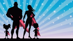 Superhero Family Arkistovideo