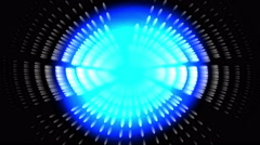 4k Abstract science fiction,laser light space,tech hole tunnel,ray particle. Stock Footage