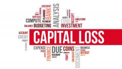 Capital loss. Two different angels. Alpha matte. Stock Footage