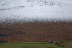 Snow capped mountains Glen Coe, Scotland Stock Photos