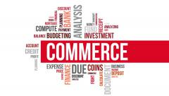 Commerce. Two different angels. Alpha matte. - stock footage