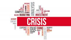 Crisis. Two different angels. Alpha matte. Stock Footage