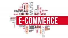 E-commerce. Two different angels. Alpha matte. - stock footage