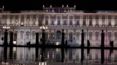 Villa Reale in Italy - stock footage