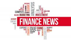Finance news. Two different angels. Alpha matte. Stock Footage
