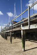 Boats at Southend-on-Sea, Essex, England - stock photo