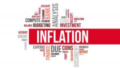 Inflation. Two different angels. Alpha matte. - stock footage