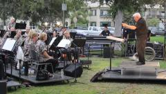 Band In the Park, Editorial Stock Footage