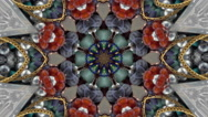 Stock Video Footage of Jewelry Kaleidoscope Background  mix2
