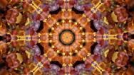 Stock Video Footage of Kaleidoscope background gemstone jewelry mix