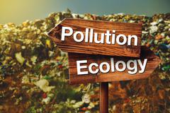 Pollution or Ecology Concept Stock Illustration