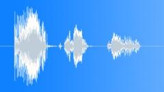 Cartoon bird screech info Sound Effect