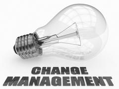 Change Management - stock illustration