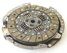 Car clutch isolated on white - stock photo