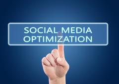 Social Media Optimization Stock Illustration