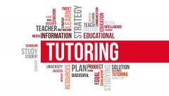 Tutoring. Two different angels. Alpha matte. Stock Footage