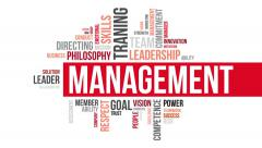 Management. Two different angels. Alpha matte. Stock Footage