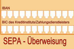 SEPA - Single Euro Payments Area - stock photo