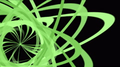 4k Abstract helix line,debris paper,spiral particle,ribbon curve background. Stock Footage