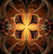 Stock Illustration of fractal abstract