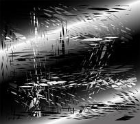 Grunge metal black background Stock Illustration