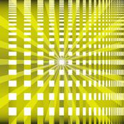 Ray checkerboard theme green background Stock Illustration