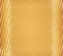 Yellow stripe plaid pattern Stock Illustration