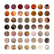 Collection of Animal skins - stock photo