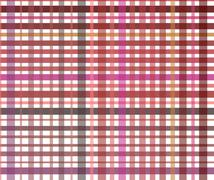 Striped seamless colourful pattern on white Stock Illustration
