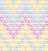 Abstract seamless chevron rainbow-coloured pattern Stock Illustration